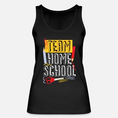 Weer Team Homeschool Quarantine Teacher - Vrouwen bio tank top
