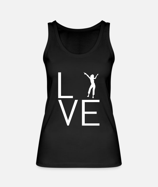 Dancer Tank Tops - Dance - Women's Organic Tank Top black