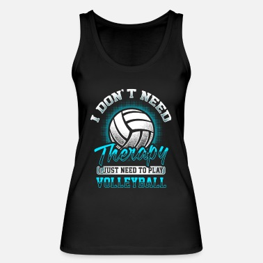 Volley Volleybal Volley Volleyballer Therapie Gift - Vrouwen bio tank top
