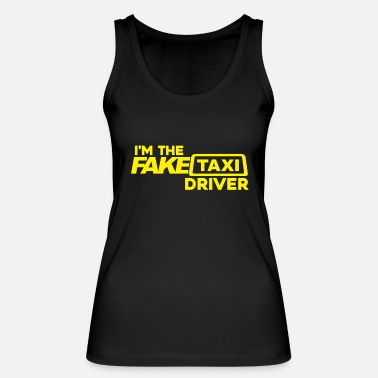Fake I'm the fake taxi driver driver handlebar gift - Women's Organic Tank Top