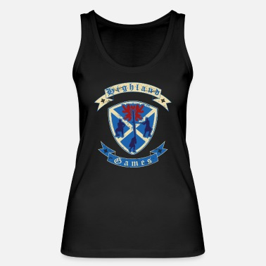 Highland Games Highland Games disciplines for real Highlanders - Women's Organic Tank Top
