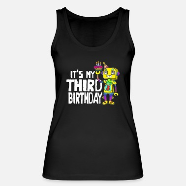 Beautiful Children's shirt for birthday with funny motif - Women's Organic Tank Top