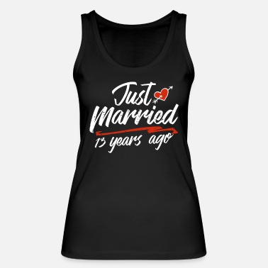 Wife Just Married 13 Year Ago Funny Wedding - Women's Organic Tank Top