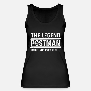 Composite Delivery Postman delivery man postman saying Postman - Women's Organic Tank Top