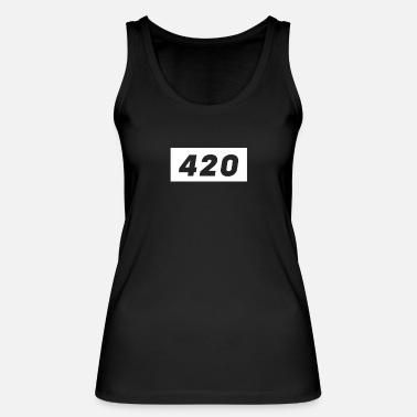 420 boxed - Women's Organic Tank Top