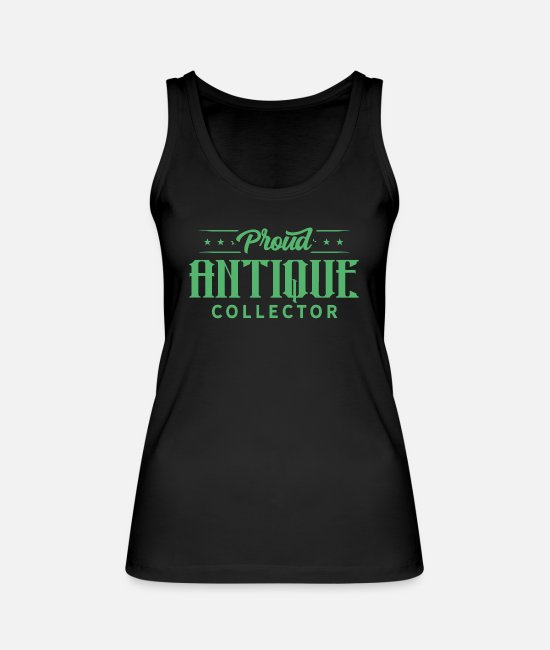 Negotiate Tank Tops - Hobby Antique Collection Job Antiques Collector - Women's Organic Tank Top black