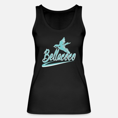 Bellacoco with bird - Women's Organic Tank Top