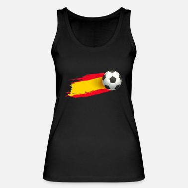 Bicycle Kick Football soccer player spain fan spain gift - Women's Organic Tank Top