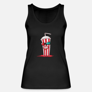 Cola Partnerhirt Popcorn & Cola Cola - Women's Organic Tank Top