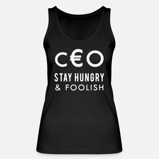 Boss Tank Tops - CEO - Women's Organic Tank Top black