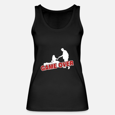 Over Game over - the game is over - Women's Organic Tank Top