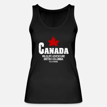 Leaf Canada - Maple Leaf - Maple Leaf - Vrouwen bio tank top