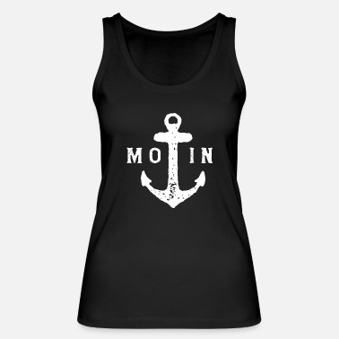 Ostsee Moin Anker Ostsee Nordsee - Frauen Bio Tanktop