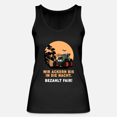 Demo Traktor - Landwirt - Demo - Demonstration - Frauen Bio Tanktop