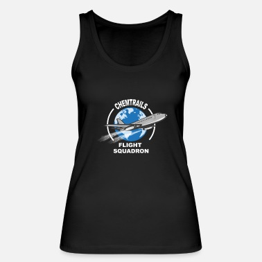 Conspiracy Realist chemtrails - Women's Organic Tank Top