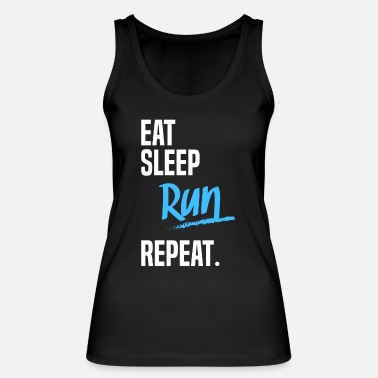 Run Repeat EAT SLEEP run -2 - Naisten tanktoppi