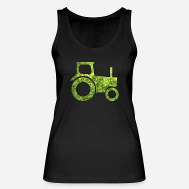 Pictogram Tractor tractor pictogram - Women's Organic Tank Top