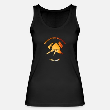 Donde Fire department, spanish departamento de bomberos - Women's Organic Tank Top