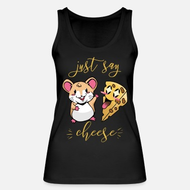 Just Say Cheese For Kids The Mouse Loves Cheese I - Women's Organic Tank Top