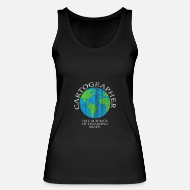 Cartography Cartography world - Women's Organic Tank Top