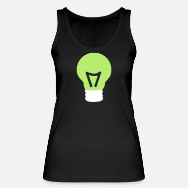 Light Bulb light bulb - Women's Organic Tank Top