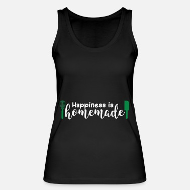 Happiness Happiness Is Homemade Gift Happiness - Vrouwen bio tank top