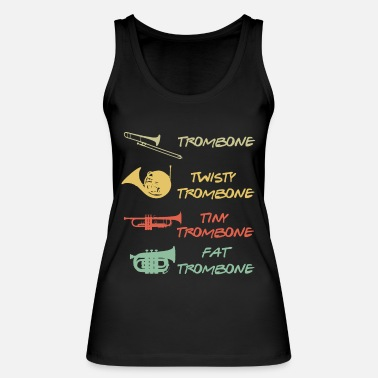 types of tubas 3 - Women's Organic Tank Top