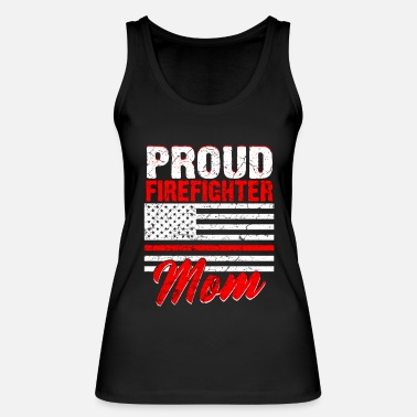 Fire Firefighters woman fire rescue heroine fire protection - Women's Organic Tank Top