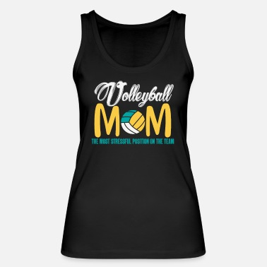 Volley Volley Beach Volleybal Moederdag cadeau - Vrouwen bio tank top