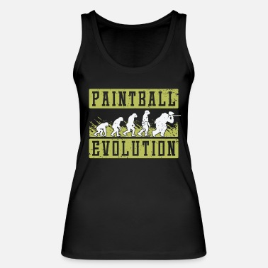 Vip Paintball evolutie - Vrouwen bio tank top