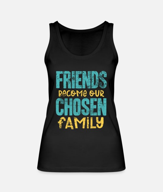 Friends Tank Tops - Best friends - Women's Organic Tank Top black