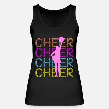 Cheers Cheerleading - Cheer Cheer Cheer - Women's Organic Tank Top
