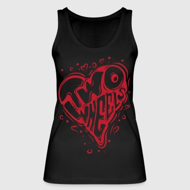 LoveTwoWheels - Women's Organic Tank Top by Stanley & Stella