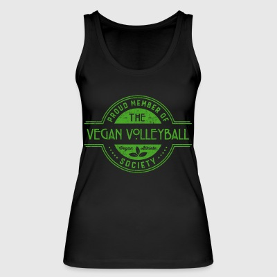 Vegan Volleyball Athlete Society Club Member Gift - Women's Organic Tank Top by Stanley & Stella