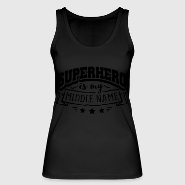 Superhero my Name - Frauen Bio Tank Top von Stanley & Stella