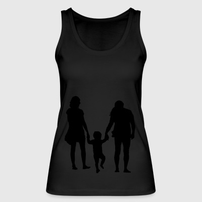 Parents with child - Women's Organic Tank Top by Stanley & Stella