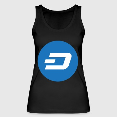 Dash Coin Logo - Women's Organic Tank Top by Stanley & Stella