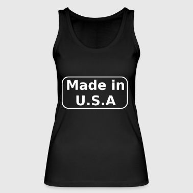 Made in USA - Women's Organic Tank Top by Stanley & Stella