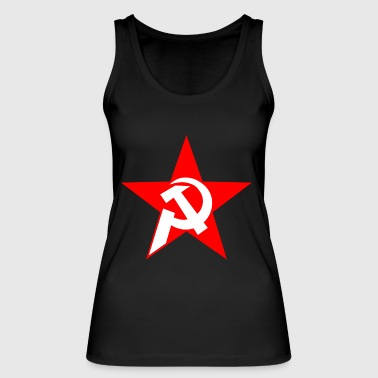 hammer and sickle - Women's Organic Tank Top by Stanley & Stella