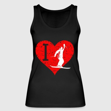 I Love Freestyle ski 4 - Women's Organic Tank Top by Stanley & Stella
