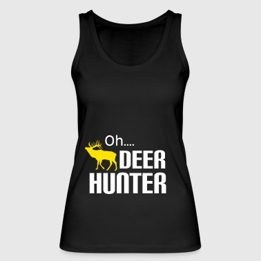 Hunters hunt in the forest forester Weidmann rifle Hunter - Women's Organic Tank Top by Stanley & Stella