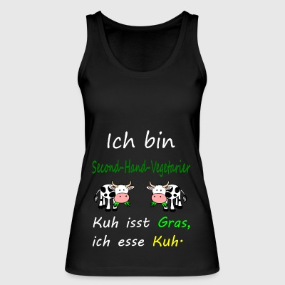 I love cows - Women's Organic Tank Top by Stanley & Stella