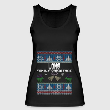 Ugly Long Christmas Family Vacation Tshirt - Økologisk Stanley & Stella tanktop til damer