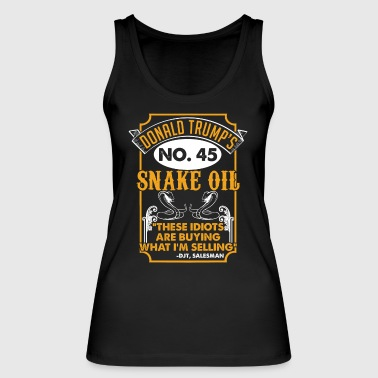 SNAKE OIL SALESMAN - Women's Organic Tank Top by Stanley & Stella