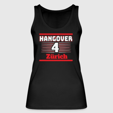 Hangover Party Zurich Switzerland Travel - Women's Organic Tank Top by Stanley & Stella