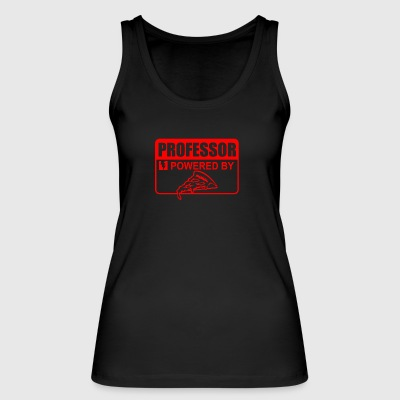 professor powered by pizza - Frauen Bio Tank Top von Stanley & Stella