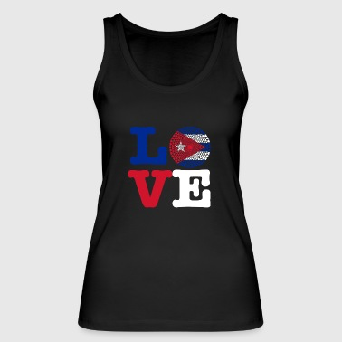 Cuba heart - Women's Organic Tank Top by Stanley & Stella
