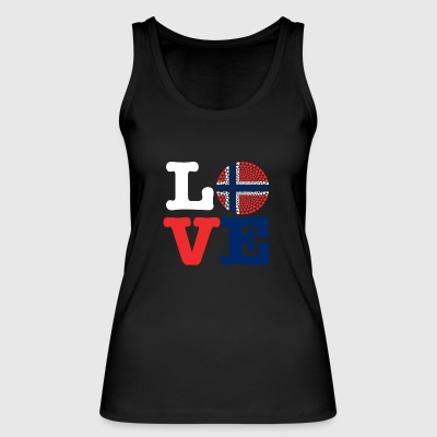 NORWAY HEART - Women's Organic Tank Top by Stanley & Stella
