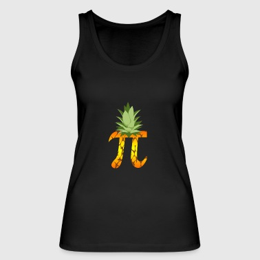 Pineapple Pi Science Geek Mathematics Symbol Humor - Women's Organic Tank Top by Stanley & Stella