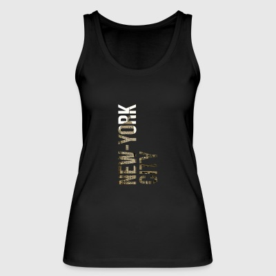 New York - Women's Organic Tank Top by Stanley & Stella